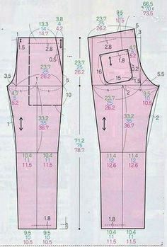Sewing Blouses, Sewing Pants, Baby Dress Patterns, Pattern Drafting, Pants Pattern, Fashion Sewing, Sewing Techniques, Ladies Boutique, Dressmaking