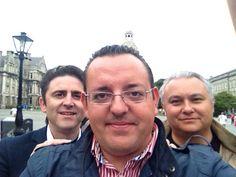 Three at the Irish Trinity College