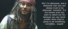 Captain Jack on honesty