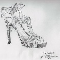 Fashion Design Portfolio, Fashion Design Sketches, Grunge Style, How To Draw Heels, Fashion Art, Fashion Shoes, Urban Outfitters, Shoe Sketches, N21