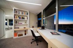 Staring at a blank wall all day is not going to do much for your productivity, so you should try and find something to look at if you can. Even if you are not in a room with an window, an interesting picture can give you something to focus on when you look up from your desk. #homeoffice
