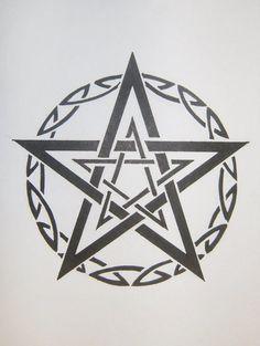 1000+ ideas about Pentagram Tattoo on Pinterest | Teddy Bear ...