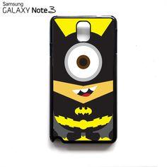 NEW Despicable Me Minion Minions Batman Samsung Galaxy Note 3 III Case Cover Batman Dark Cute Knight