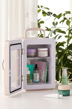 Mini Refrigerator | Urban Outfitters Planet Colors, Minis, Mini Washing Machine, Beauty Sponge, Lifestyle Shop, Mini Fridge, Dry Brushing, Brush Cleaner, New Room