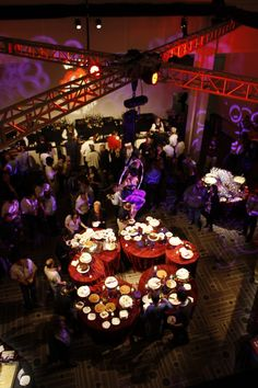 2012 Corporate Event lighting at the pasadena Convention Center