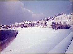 St Ives Harbour full of snow Cornwall House, St Ives Cornwall, Devon And Cornwall, Cornwall England, Seaside Uk, Seaside Towns, Snow Scenes, Winter Scenes, Beast From The East