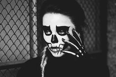 #death #characterization #makeup  mod: Land Roses phot: Angelika J. makeup: Marta Sławińska