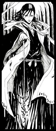 Bleach: Kuchiki Byakuya by mick347