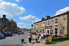WENSLEYDALE - The Crown, Hawes, Yorkshire.
