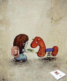 Art by Dran aka French Banksy