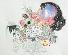 "SGArtistry   Creative Brain Mixed Media Print - 8.5 x 11""   Online ..."