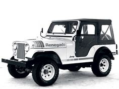 Jeep CJ-5 Renegade I always wanted one of these :)
