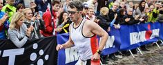 """""""Well done, Crown Prince Frederik, you are an Ironman"""" 3.8 km swimming, 180 km cycling and 42.2 km running. 10 hrs 45 mins. He's 45 years old - fantastic!"""