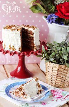 """Pastel de Zanahoria Perfecto (receta adaptada de """"las recetas de la pastelería Hummingbird"""")"""