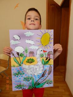 Одноклассники Diy For Kids, Crafts For Kids, Swan Painting, Kindergarten Anchor Charts, Art Projects, Projects To Try, Paper Magic, Art Drawings For Kids, Art Sites