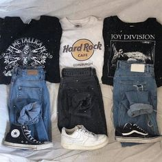 aesthetic clothes Grunge Outfits For School , Grunge Outfits Teenage Outfits, Teen Fashion Outfits, Fall Outfits, Casual Teen Fashion, Punk Fashion, Mode Grunge, Grunge Look, 90s Grunge, Summer Grunge