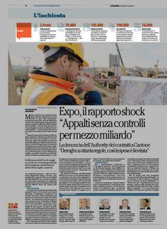 #expo: I CASI FIERA MILANO SPA, spot di lancio, forniture...