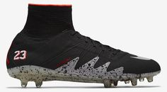 baf5f18fafe The new Air Jordan Neymar football boots are the first-ever soccer cleats  made by the Jordan brand. based on the Nike Hypervenom football boot model