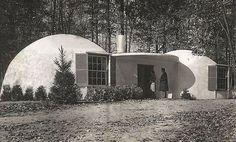 "Last known Wallace Neff ""Bubble Home"" located in Pasadena, CA"