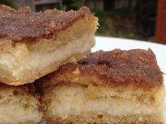 Easy Cinnamin Cheesecake Bars
