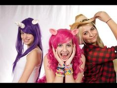 Tutorial: How To Make My Little Pony Cosplay Ears - YouTube