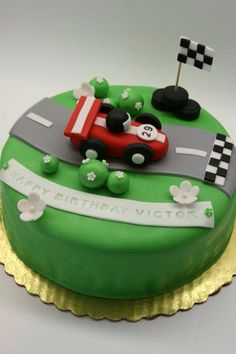Formula Race Car Cake From What S New Cupcake Ingeniously