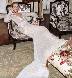 A look at the new bridal couture collection of Galia Lahav wedding dresses for Fall The Alegria Collection! Camilla, Fitted Prom Dresses, Designer Prom Dresses, Long Sleeve Wedding, Wedding Dress Sleeves, Wedding Dress Trends, Wedding Gowns, Wedding Heels, Couture Collection