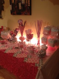 Sweet sixteen Candy Buffet