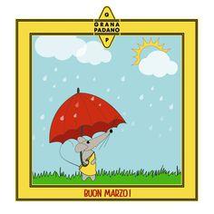 Grana Padano Marzo, marzo pazzerello: esce il sole e prendi l'ombrello!