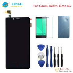 nice New LCD Display Screen with Touch Screen Digitizer Assembly For Xiaomi Redmi Note Black Display Screen, Telephone, Phone Accessories, Samsung, Technology, Touch, Iphone, Stuff To Buy, Black