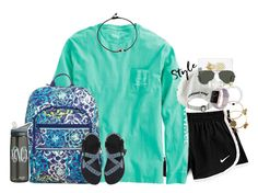 facts about me tag! Summer Outfits, Casual Outfits, Cute Outfits, Swim Team Shirts, Madison Style, Teen Fashion, Fashion Outfits, Long Sleeve And Shorts, Weekend Outfit