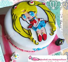 15 Sailor Moon Inspired Cakes and Bakes