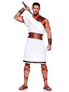 Greek Warrior Costume for Men