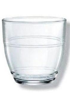 Vaso de agua Duralex que cuando se rompía lo hacía en mil trozos