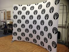 Become Ministry (Winter Garden, FL) uses a step and repeat pattern for a multi-use backdrop.