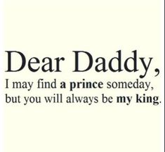 Discover and share I Love You Dad Quotes From Daughter. Explore our collection of motivational and famous quotes by authors you know and love. Cute Love Quotes, Love Quotes For Her, Pretty Quotes, Birthday Wishes For Daughter, Birthday Girl Quotes, Birthday Wishes Quotes, Father Birthday, Birthday Messages, King Quotes
