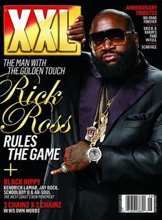 XXL Magazine  *Notice how he interacts with the masthead*