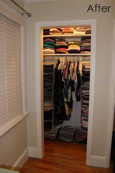 Cozy.Cottage.Cute.: Closet Organization That Didn't Take 3 Hours I Swear