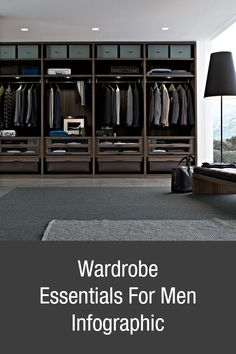 Build your wardrobe from the ground up.. https://www.lifestylebyps.com/blogs/mens-fashion-blog/7915997-build-your-wardrobe-from-the-ground-up-wardrobe-essentials-men-infographic #mensfashion