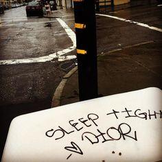#dior #highfashion #streetware #mattress #streetart #art #instalation #tags #graffiti #pieces #paint #spraypaint #urbanart #streets #city #sanfrancisco #sf #california #iphone #iggraffiti #cali #iphoneonly by sf_modern