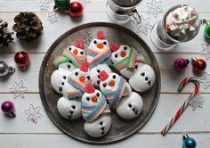 Merry Meringue Snowmen - Burnbrae Farms