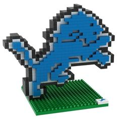 Detroit Lions NFL 3D BRXLZ Puzzle Team Logo (SHIPS IN NOVEMBER)