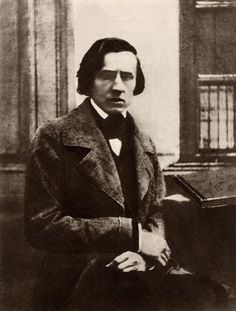 Frederic Chopin (1810-1849) was born in Poland and settled in France. He was a very skilled pianist, and composed some exquisite music for that instrument. His piano pieces include Preludes, Etudes, Waltzes, Impromptus, Ballades, Nocturnes and Scherzos, as well as Mazurkas and Polonaises based on Polish dance forms.  I miss my Polish grandma and her great memories of this rich heritage...