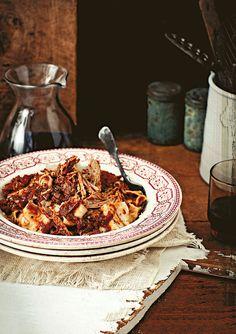 Slow-roasted pork ragu