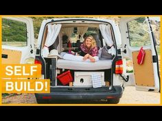 (10) Architect Builds a Beautiful Tiny Camper! VAN TOUR - YouTube