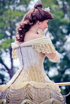 Gorgeous gown  disney world pictures