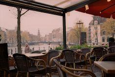 Amsterdam's Cafe. Kodak Ektar Film.