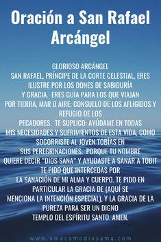 Spiritual Prayers, Prayers For Healing, Mom Prayers, Morning Prayers, Catholic Prayers In Spanish, Prayer For Love, Archangel Prayers, Gods Love Quotes, Miracle Prayer