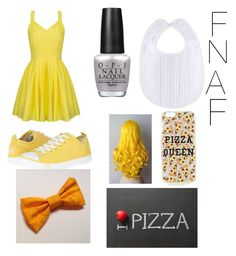 Five nights at freddyu0027s - Chica Costume  by shereen-roman on Polyvore  sc 1 st  Pinterest & 97 best FNAF Party images on Pinterest | Fnaf cosplay Costumes and ...