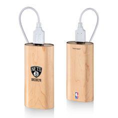Brooklyn Nets 4000mAh Wood Power Bank